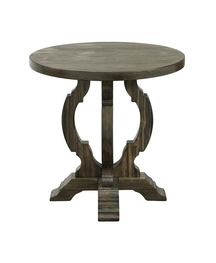Coast to Coast - Orchard Park Round Accent Table, Quick Ship