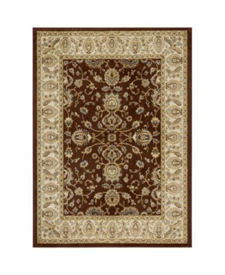 "Vision VIS09 Brown 5'2"" x 7'2"" Area Rug"