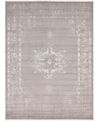 Norston Nor2 Gray 7' x 10' Area Rug