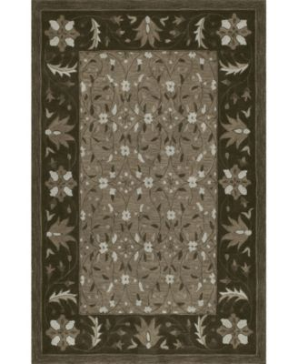 CLOSEOUT! Torrey Tor1 Chocolate 8' X 10' Area Rugs