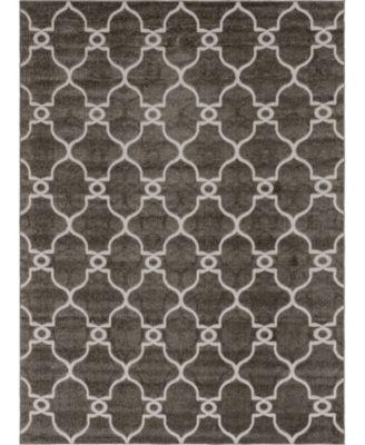 Pashio Pas2 Gray 8' x 10' Area Rug