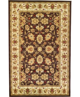 Passage Psg3 Brown 5' x 8' Area Rug