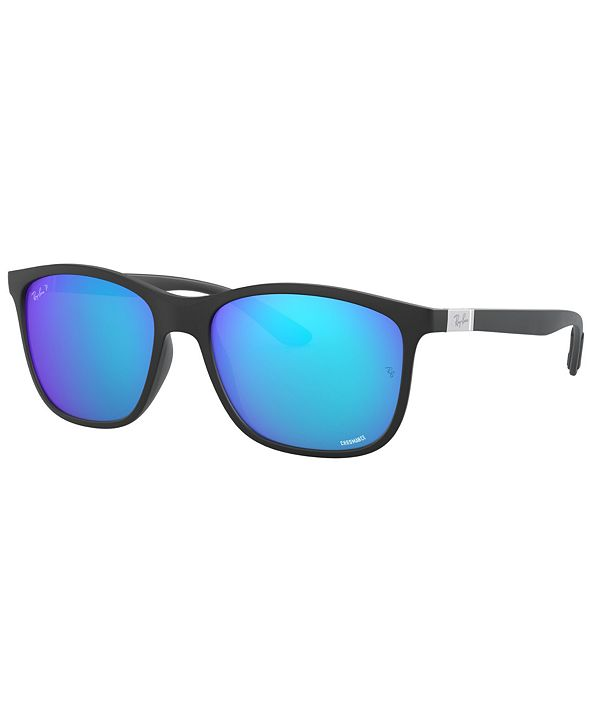 Ray-Ban CHROMANCE Polarized Sunglasses, RB4330CH 56