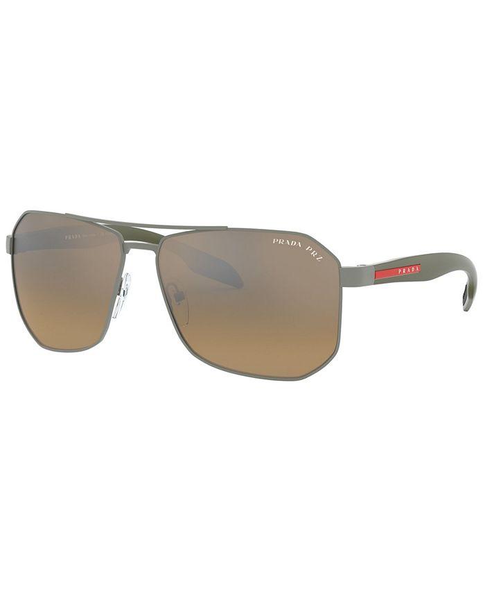 Prada Linea Rossa - Polarized Sunglasses, PS 51VS 62