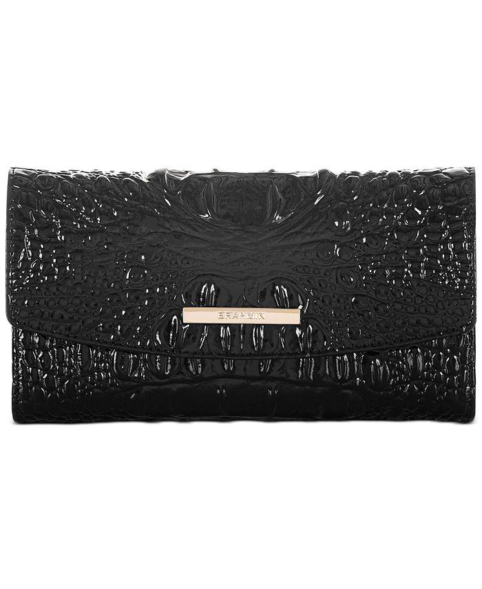 Brahmin - Modern Melbourne Embossed Leather Checkbook