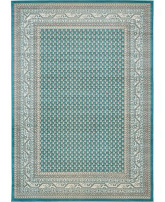 Axbridge Axb1 Teal 9' x 12' Area Rug