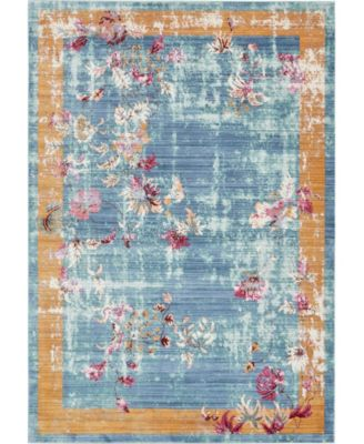 Malin Mal1 Blue 10' x 13' Area Rug