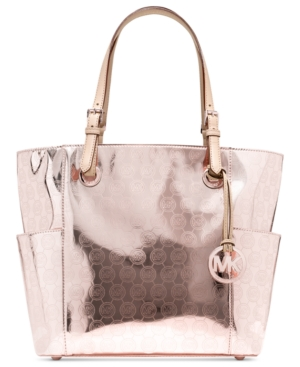 Upc 887042149009 Product Image For Michael Kors Signature Patent East West Tote Upcitemdb