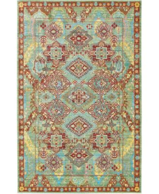 Malin Mal6 Green 8' x 8' Square Area Rug