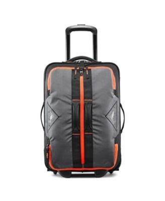 """Dell's Canyon 22"""" Carry-On Wheeled Drop Bottom Duffle"""