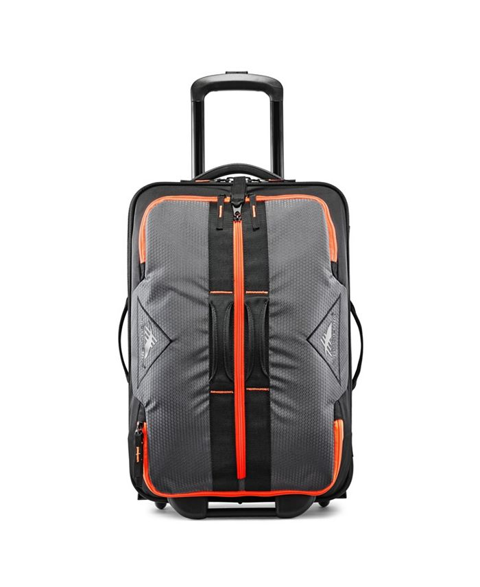 """High Sierra - Dell's Canyon 22"""" Carry-On Wheeled Drop Bottom Duffel"""