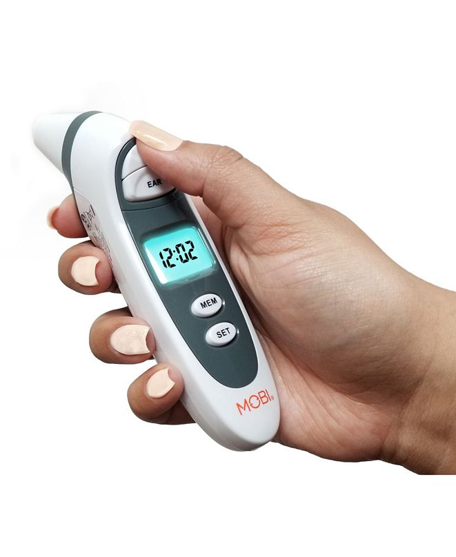 MOBI DualScan Prime Ear and Forehead Digital Thermometer