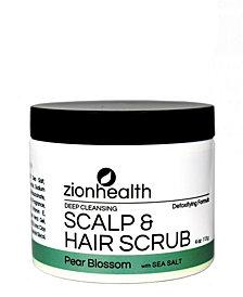 Zion Health Hair Scrub, Pear Blossom, 4 oz