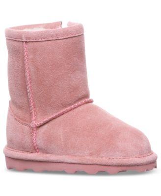 BEARPAW Toddler Girls' Elle Short Boots
