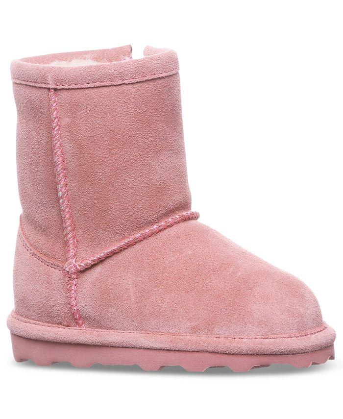 BEARPAW - Toddler Girls' Elle Short Boots from Finish Line