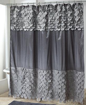 Avanti Bath Accessories Flutter Dots Shower Curtain Bathroom Accessories Bed Bath Macy 39 S