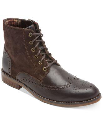Colden Wingtip Dress Casual Boots