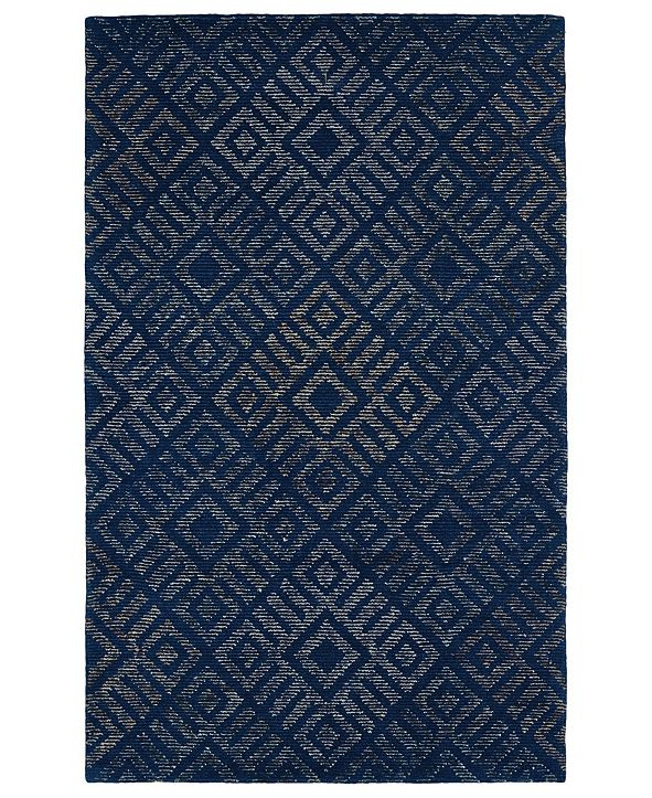 "Kaleen Evanesce ESE02-17 Blue 5' x 7'9"" Area Rug"