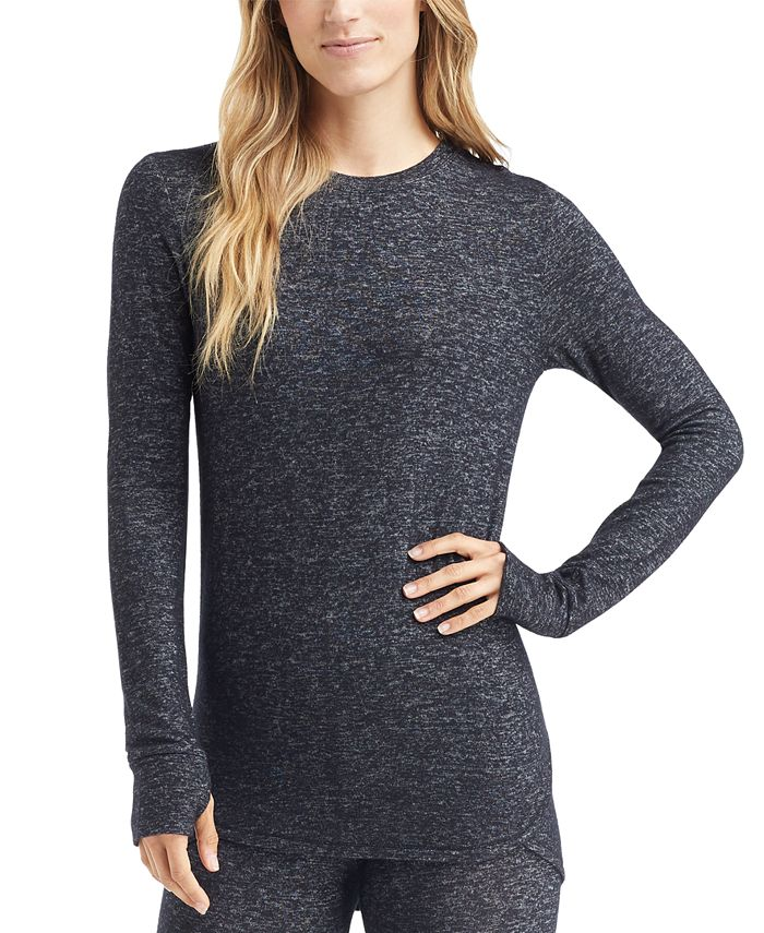 Cuddl Duds - Soft Knit Long-Sleeve Top