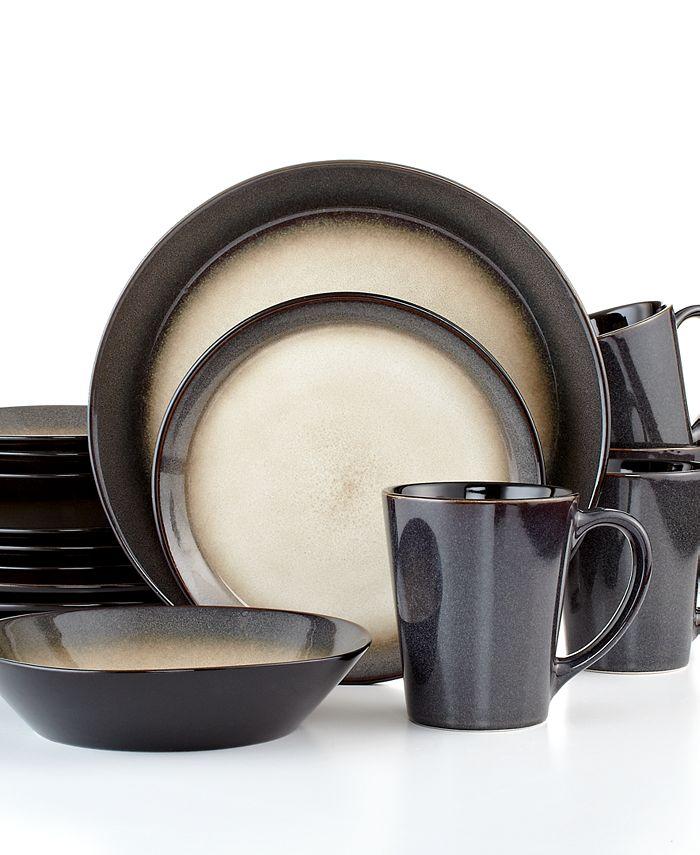 Pfaltzgraff - Aria Red 16-Piece Dinnerware Set