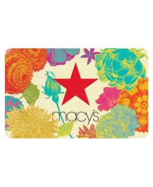 Floral Gift Card with Greeting Card