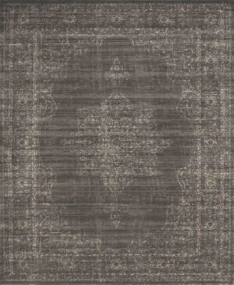 "CLOSEOUT! 3563/0040/LIGHTBROWN Cantu Brown 3'3"" x 4'11"" Area Rug"