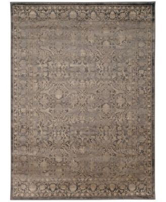 "CLOSEOUT! 3564/0041/LIGHTBROWN Cantu Brown 5'3"" x 7'3"" Area Rug"