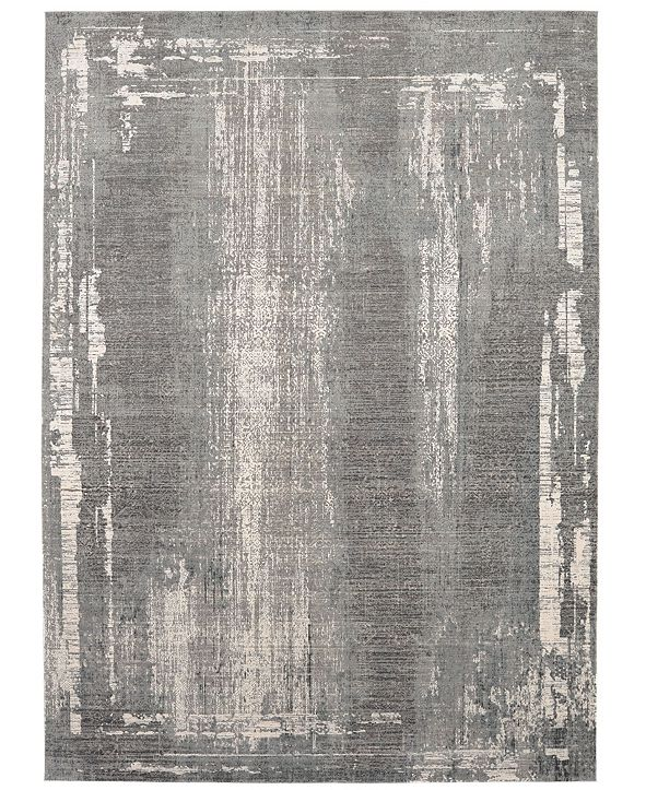 Karastan Tryst Milan Gray 8' x 11' Area Rug