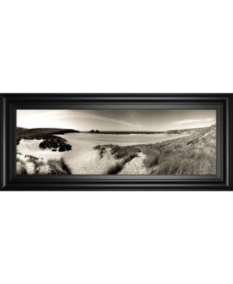 """The Wind in The Dunes Il by Noah Bay Framed Print Wall Art - 18"""" x 42"""""""