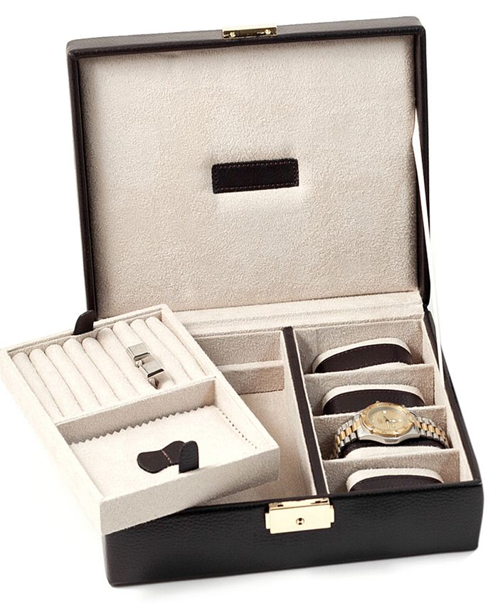 Bey-Berk - Accessories, Leather Valet Box