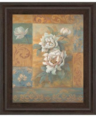 """Pam's Poppies I by Vivian Flasch Framed Print Wall Art - 22"""" x 26"""""""