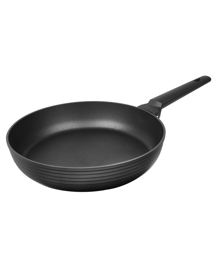 "MasterPan - Designer Series Non-Stick Cast Aluminum Fry Pan, Black, 11"""