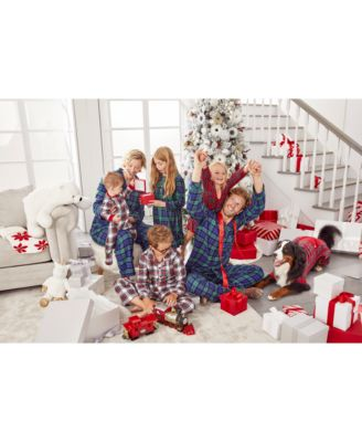 Matching Women's Brinkley Plaid Family Pajama Set, Created for Macy's