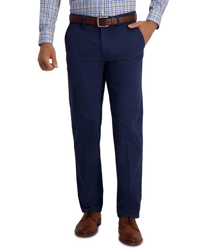 Haggar - Men's Slim-Fit Super Flex Casual Pants