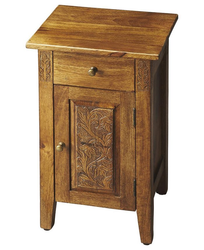 Butler - Webster Chairside Chest, Quick Ship