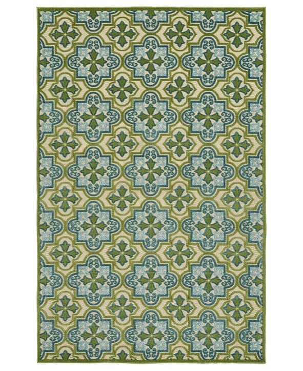 Kaleen A Breath of Fresh Air Green Area Rug Collection