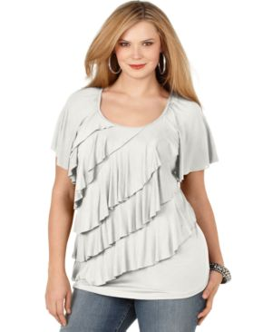 Ladies Plus Size Tunic Top