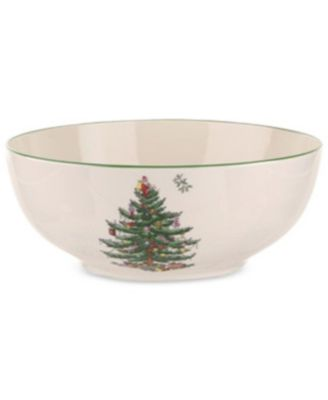 Christmas Tree Round Bowl
