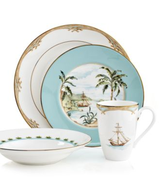 Certified International Floridian Dinnerware ...  sc 1 st  international-luxury.com & Island style dinnerware for casual meals and relaxed entertaining.