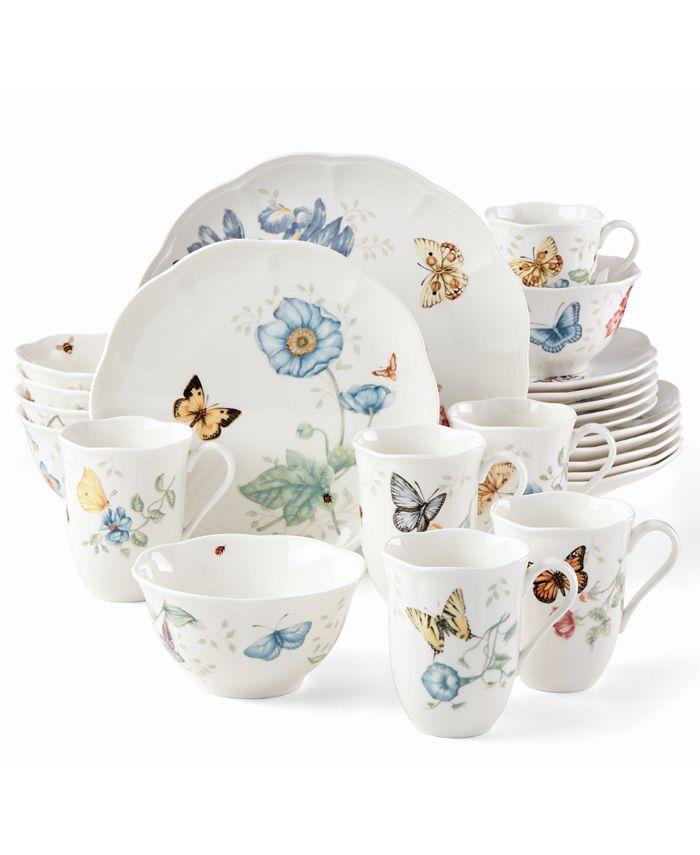 Lenox - Butterfly meadow 24 pc Dinnerware Set