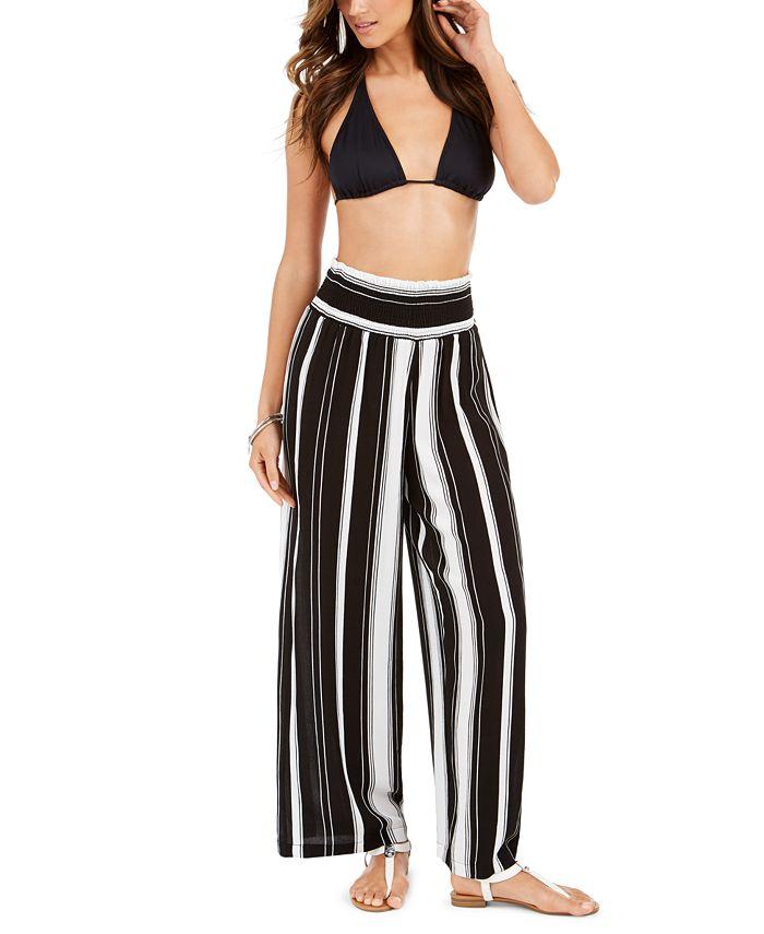 Lauren Ralph Lauren - Striped Pull-On Cover-Up Pants