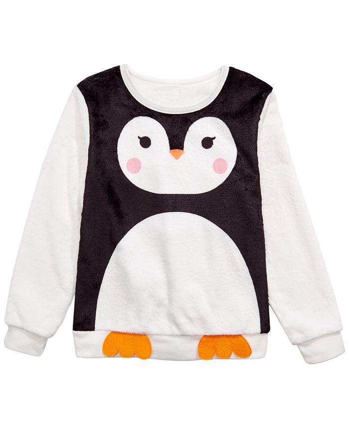 Evy of California - Big Girls Penguin Sweatshirt