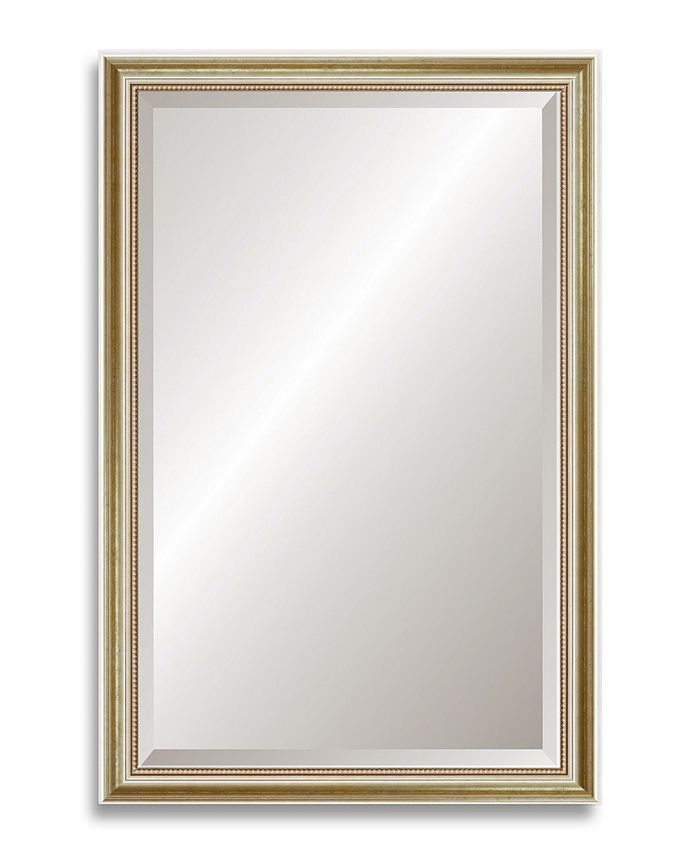 Reveal Frame & Décor - Gold Leaf Beveled Wall Mirror