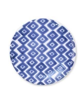 Santorini Diamond Salad Plate