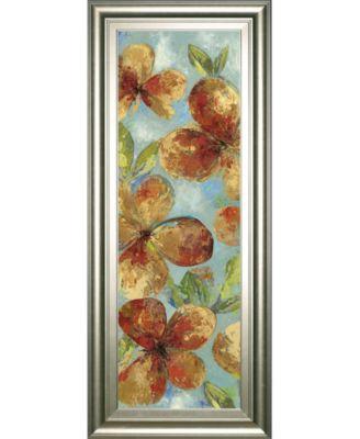 "Bliss II by Asia Jensen Framed Print Wall Art, 18"" x 42"""