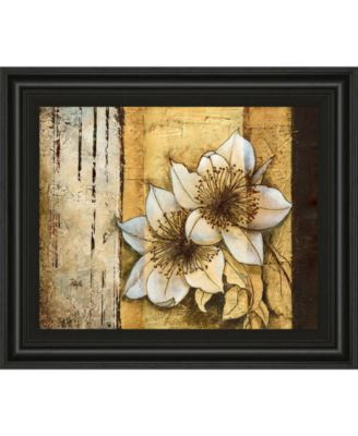 "Exotic on Gold I by Patty Q Framed Print Wall Art, 22"" x 26"""