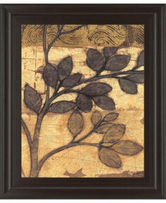"Bronzed Branches II by Norman Wyatt Jr. Framed Print Wall Art, 22"" x 26"""