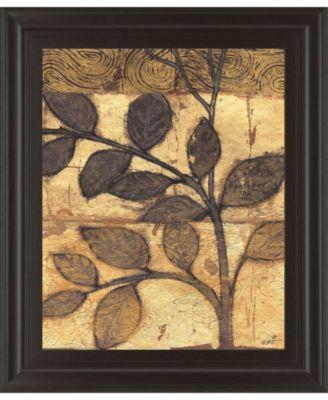 "Bronzed Branches I by Norman Wyatt Jr. Framed Print Wall Art, 22"" x 26"""