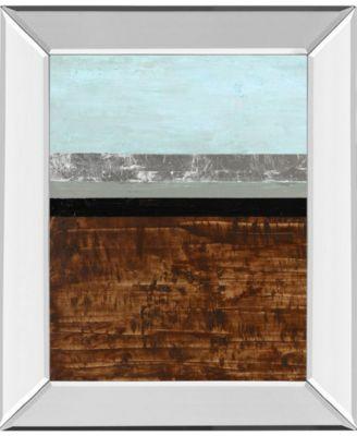 "Textured Light I by Natalie Avondet Mirror Framed Print Wall Art, 22"" x 26"""