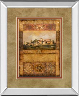 "Centimento I by Douglas Mirror Framed Print Wall Art, 34"" x 40"""
